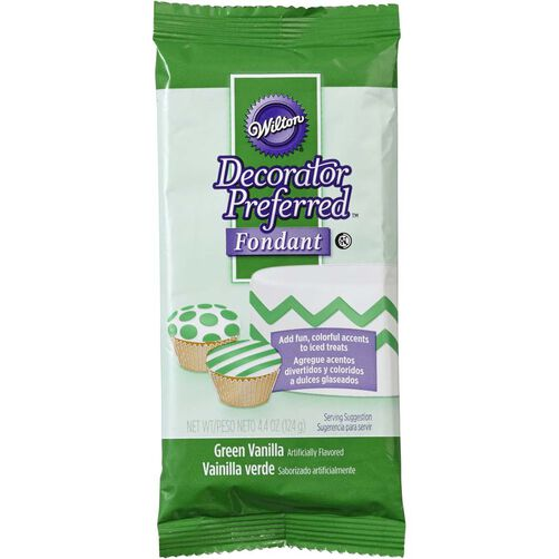 Decorator Preferred Green Fondant Pack 4.4 oz.