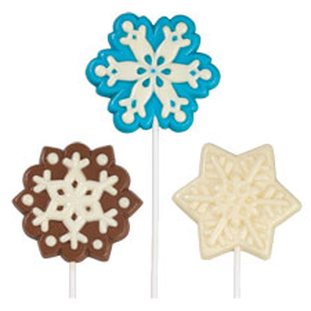 Snowflake Large Lollipop Mold Wilton