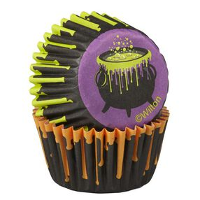 Wilton Halloween Cauldron Mini Baking Cups, 100 Ct.