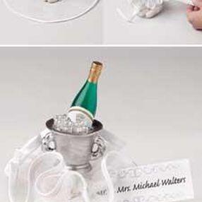Sweet Things Champagne Bottles Favoring Making Kit
