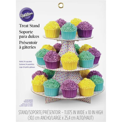 Party Dots Treat Stand