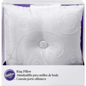 Swirls Ring Bearer's Pillow
