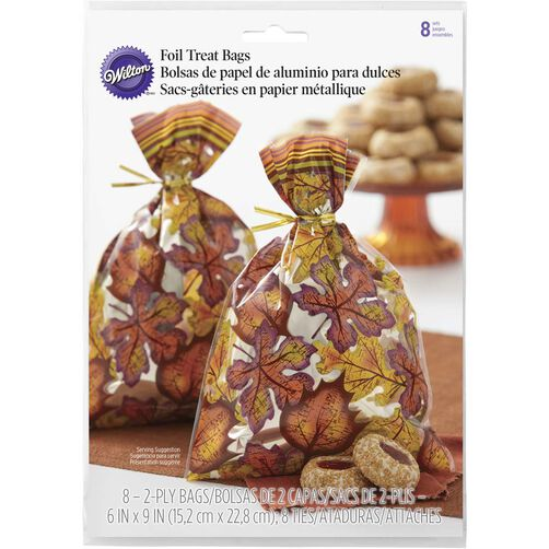 Fall Leaves Treat Bags