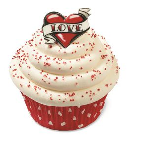 Wilton Heart Tattoo Icing Decorations