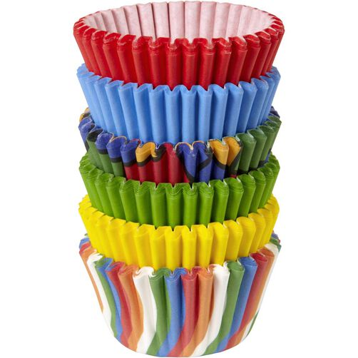 Primary Collection Cupcake Liners