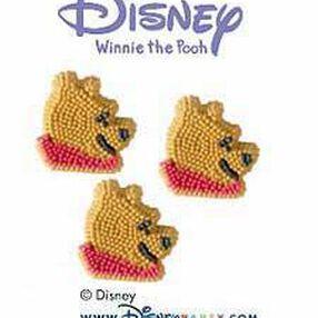 Pooh Icing Decorations