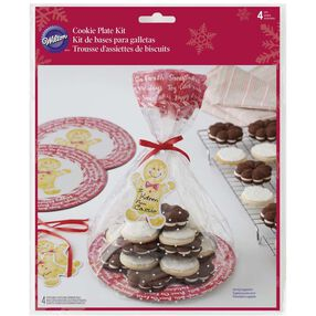 Wilton Christmas Cookie Gifting Plates
