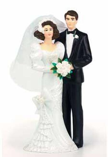 Love's Duet with Black Tux Figurine