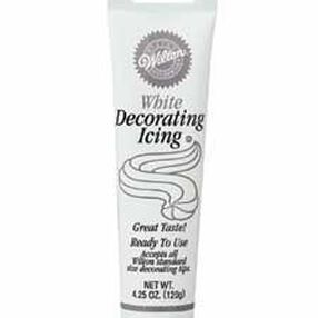 White Ready-To-Use Icing Tube
