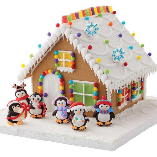 Penguin Gingerbread House Decorating Kit Wilton