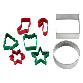 Wilton Christmas Cookie Cutter Set, 8-Pc.
