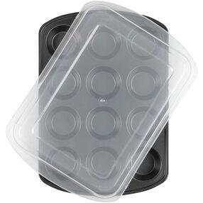 Wilton Premium Non-stick 12-Cavity Covered Muffin Pan 2105-1372