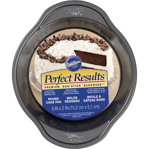 "Perfect Results 6"" Round Cake Pan"