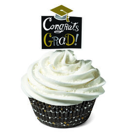 Graduation Baking Cups & Picks