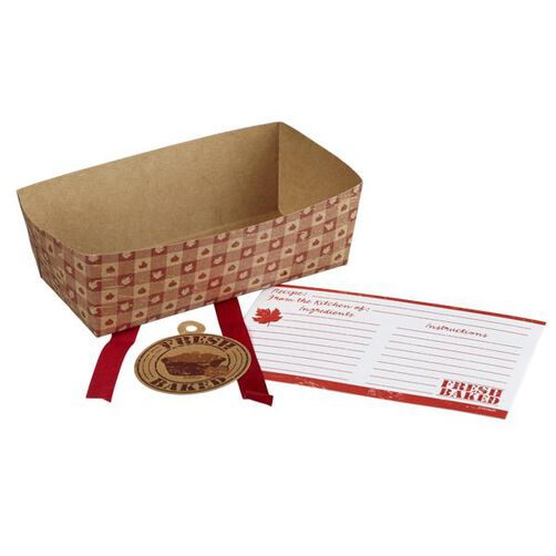 Wilton Autumn Fresh Baked Loaf Disposable Paper Bakerware Kit
