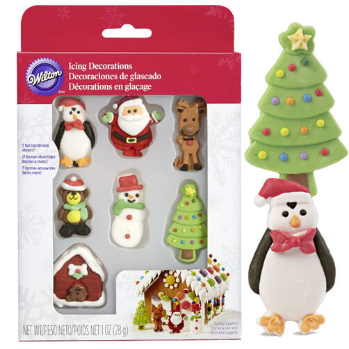 Gingerbread Icing Decorations