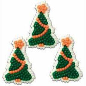 Petite Tree Icing Decorations