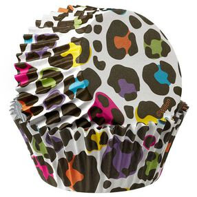 Wilton Leopard ColorCups Standard Baking Cups 36 Ct. 415-2157