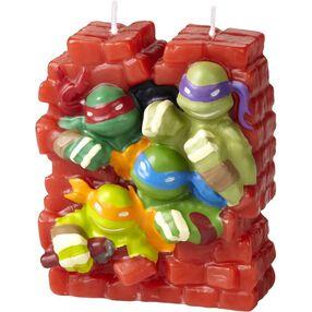 Teenage Mutant Ninja Turtles Birthday Candle