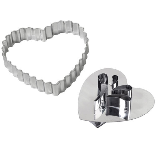 Giant Heart Linzer Cookie Cutter