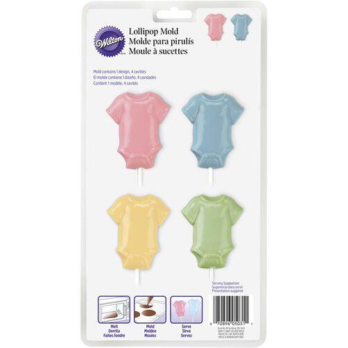 Baby T-Shirt Lollipop Mold