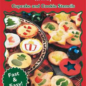 Holiday Cupcake and Cookie Stencils