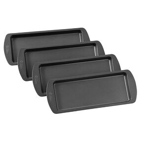 Wilton Easy Layers! 4 Piece Loaf Cake Pan Set