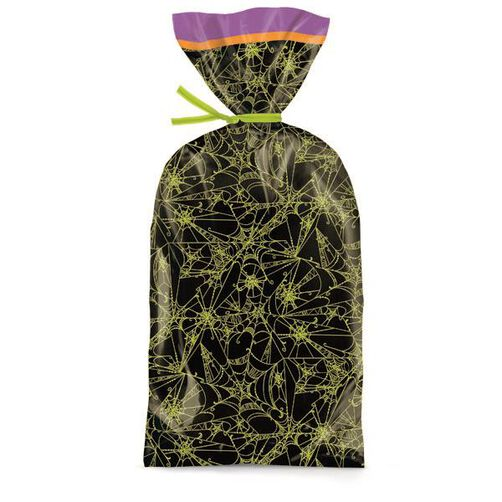 Halloween Spider Webs Party Bags