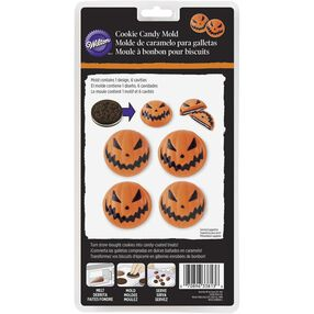 Jack-o'-lantern Halloween Cookie Mold
