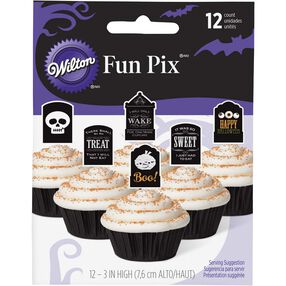 Tombstone Cupcake Toppers
