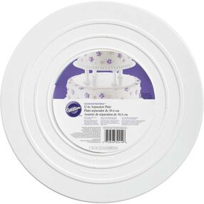 "Decorator Preferred 12"" Smooth Edge Plate"
