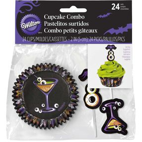 Eyeball Martini Cupcake Combo Pack