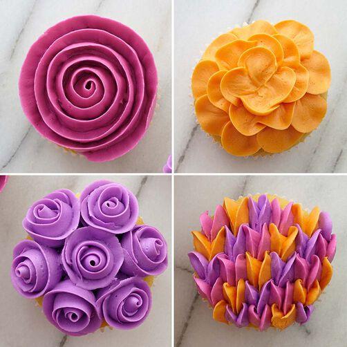 wilton decorating tips 104 petal piping tip - Decorating Tips