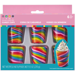 Dylan's Candy Bar Rainbow Candy Cups