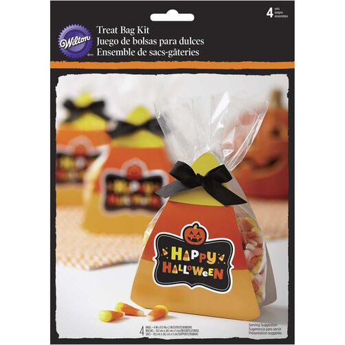 Wilton Happy Halloween Candy Corn Treat Bag Kit