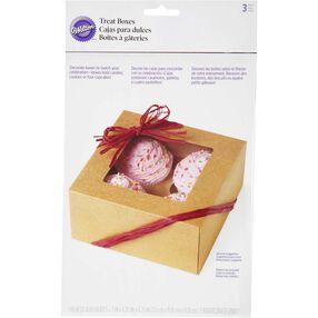 Kraft 4-Cupcake Box