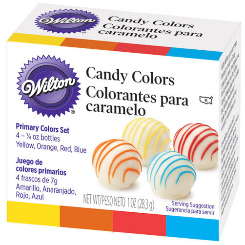 wilton candy colors primary candy colors set - Colorant Gel Wilton