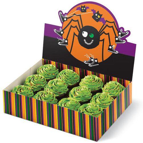 Spooky Pop Cupcake Bakery Box Caddy