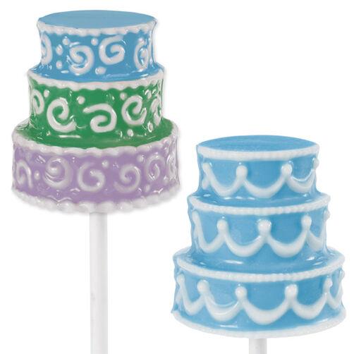 3-D Cake Large Lollipop Mold