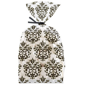 Black & White Damask Party Bags