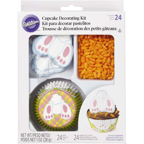 Bunny Tail Cupcake Decorating Kit