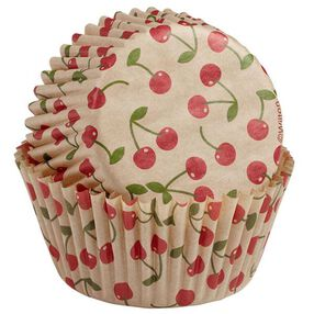 Wilton Unbleached Cherry Pattern Baking Cups, 75 Ct. 415-2279