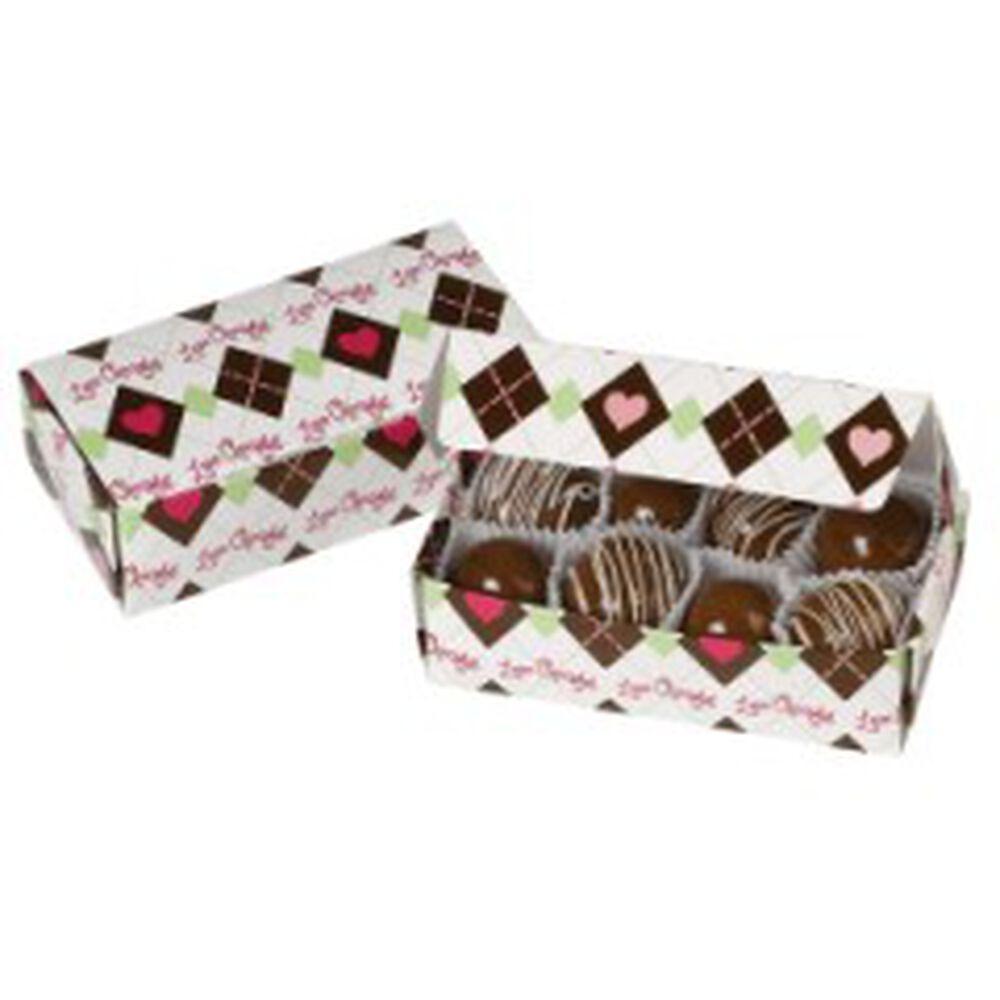Wilton black favor boxes : Love chocolate candy gift boxes wilton