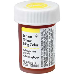 Lemon Yellow Gel Food Coloring Icing Color