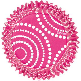 ColorCup Pink Polka Dots Cupcake Liners