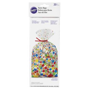 Wilton Confetti Squares Party Bags, 20-Ct.