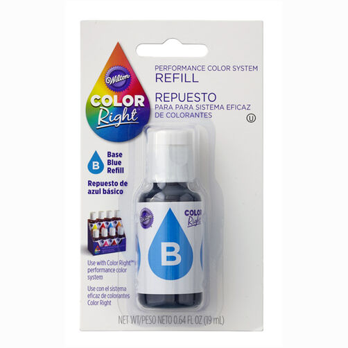 Wilton Color Right Blue Base Color Refill