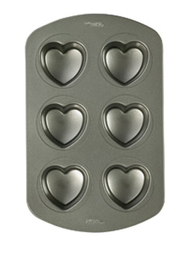 Non-Stick Mini Heart Pan