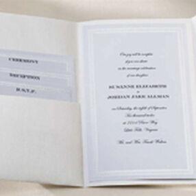 String of Pearls Pocket Invitation Kit