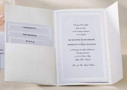 string of pearls pocket invitation kit wilton